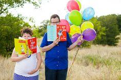 Balloons! I'll need balloons in my maternity pics!
