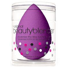 Beauty Blender Royal Single Sponge, Purple BeautyBlender http://smile.amazon.com/dp/B00JDZ3O2O/ref=cm_sw_r_pi_dp_JkFAwb146X787