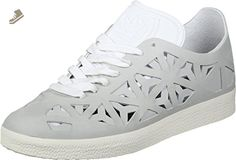 Adidas Gazelle Cutout Womens Sneakers Grey - Adidas sneakers for women (*Amazon Partner-Link)