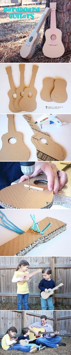 You can certainly make almost anything out of cardboard. Cardboard crafts are so easy to master and it's very cheap to get the required supplies. So if you're into easy and quick crafts, you gotta look at these great cardboard crafts.