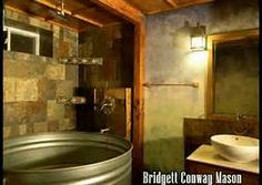 Coolest Bathroom Ever livestock feeding trough for a tub. sounds good to me. | rooms