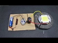 15 volt 2Ah power full dc Boost from 1.5 volt AAA battery (Et Discover) - YouTube