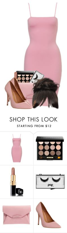 """Untitled #2751"" by alisha-caprise ❤ liked on Polyvore featuring Bobbi Brown Cosmetics, Chanel, Pop Beauty, Givenchy and Office"
