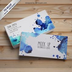 Your business card is an important part of your branding and - ecoprintingau - insta Web Business Card Mock Up, Professional Business Cards, Graphisches Design, Logo Design, Corporate Design, Business Card Design, Logo Marketing, Watercolor Business Cards, Double Sided Business Cards
