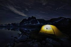 A camping night by Victor Liu on 500px