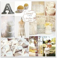 Lace Wedding Theme