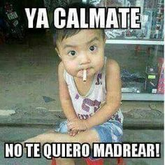 Funny Mexican Quotes, Mexican Humor, Funny Spanish Memes, Spanish Humor, Funny Quotes, Mexican Sayings, Funny Baby Memes, Funny Pix, Funny Babies