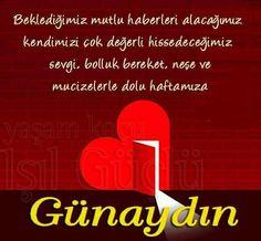 Günaydın,Mutlu Haftalar  www.sosyetikcadde.com