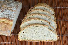 Bloc de recetas: Pan de espelta y linaza con masa vieja
