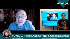 Mark Crispin Miller and Graham Elwood discuss . Graham