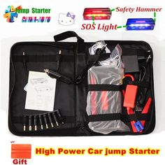 Mini Portable Emergency Car Jump Starter/battery charger