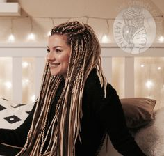 Most current Images Box braids white girl Thoughts Indeed, once not that sometime ago, each time a skilled African-American lady will not have thought Dread Braids, Afro Braids, Twist Braids, Fulani Braids, Blonde Dreads, Fake Dreads, Box Braids Hairstyles, Dreadlock Hairstyles, Cool Hairstyles