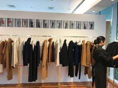 """JET NEWYORK 2017 F/W EXHIBITION """"Lucid Legion """" A mix of minimal uniform inspired shapes blended with elegant fabrics. Lux cashmeres,silks,wool and velvet are the key ingredients that make up FW 17. The color palate and key details are inspired by traditional military pieces. Deep blacks and navys are juxtaposed with whites and beige. A feminine pop of orange and pink bring newness to the uniform while still keeping within rank."""