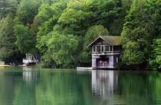 Elkhart Lake Wisconsin, Vintage Boat House