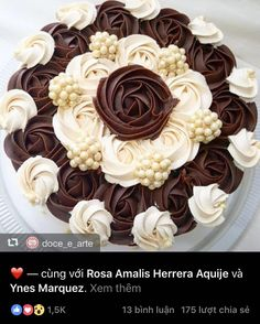 "Hoang Anh on Instagram: ""#beautifulcake"""