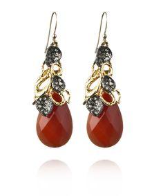 Alexis Bittar  - Gold-tone Siyabona petal cap earrings