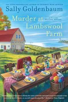 Late summer blooms in beautiful Sea Harbor, Massachusetts, and while a harvest thrives, Izzy Chambers Perry and the other Seaside Knitters will need to cast on their sleuthing skills to save a local farm.  Unfortunately, finding a killer can be like looking for a needle in a haystack. . . .