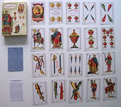 Baraja A gusto Rius - Playing cards A gusto Rius