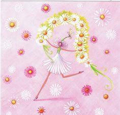 ♥ Mila Marquis : La Fée et les Fleurs - Cartes d'Art/Mila Marquis - Lulu Shop.