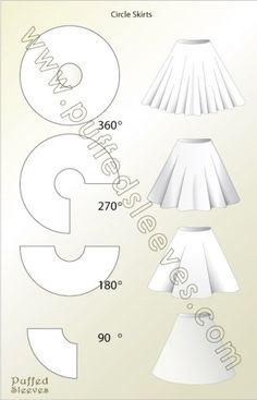 Calculating the radius knowing your waist girth. Circle Skirt Construction Source by zelihadedeoglu The post Circle skirt construction.Calculating the radius knowing your waist girth. appeared first on Create Beauty.Sewing circle skirt is not a time Fashion Sewing, Diy Fashion, Ideias Fashion, Skirt Fashion, Fashion Dresses, Sewing Hacks, Sewing Crafts, Sewing Projects, Sewing Tips