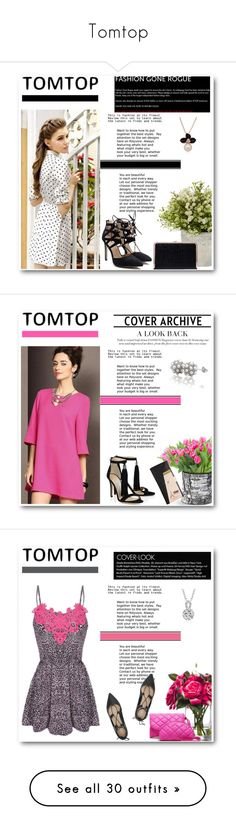 """Tomtop"" by emina-turic ❤ liked on Polyvore featuring vintage"