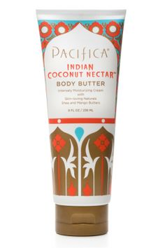 Indian Coconut Nectar Body Butter Tube | Pacifica Perfume  http://www.pacificabeauty.com/bath-and-body/moisturizers/body-butters/indian-coconut-nectar-body-butter-tube