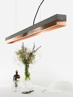 Suspension LED En Cuivre Pour éclairage Direct [C1] DARK COPPER By  GANTlights
