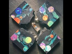 Making of Space Junkie Cold Process Soap: Part 2