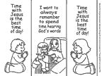 """Craft for bible story of Mary and Martha. It says, """"Time with Jesus is the best time of day! Prayer Crafts, Bible Story Crafts, Bible Crafts For Kids, Preschool Bible, Bible Stories, Sunday School Lessons, Sunday School Crafts, School Fun, Bible Lessons"""