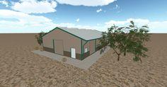 Cool 3D #marketing http://ift.tt/2poZI9H #barn #workshop #greenhouse #garage #roofing #DIY