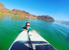 Something tells us that our Marketing Specialist is enjoying her day a little more than we are  #thisisadventure #optoutside #ourbackyard #bahia #baja #bahíaconcepción by adventuretweets