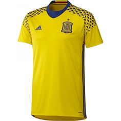 Comprar camiseta portero segunda equipación españa hombre online - Competición - Tienda oficial Selección Española de Fútbol
