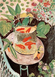 Los peces rojos. Henri Matisse.