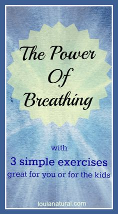 Using the power of breathing to help your body to return to rest and recovery. Healing can only happen once out of fight or flight. Simple and quick breathing techniques