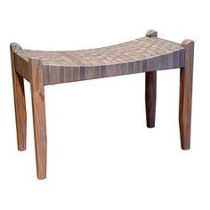 Loon Peak Barnestowne Wood Bedroom Bench | AllModern