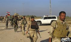 الشرطة العراقية تدخل قرية القاهرة على مشارف…: الشرطة العراقية تدخل قرية القاهرة على مشارف حمام العليل جنوب الموصل