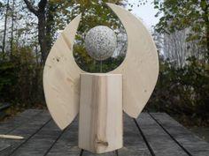 Weihnachtsengel aus Holz- #OBI Selbstgemacht! Blog. Selbstbauanleitung für jedermann. #Holzengel #xmas #DIY