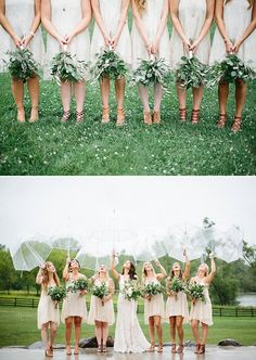 Wisconsin Rainy Romance: An Enchanting Wedding at The Barn at Harvest Moon Pond. Photo: Dani Stephenson