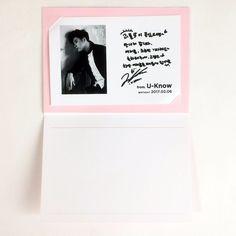 [Limited] SM TOWN COEX Artium SUM Official SM Artist TVXQ U-Know Birthday Card