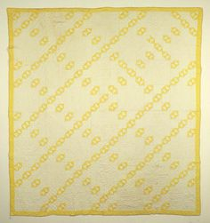 yellow broken dishes quilt