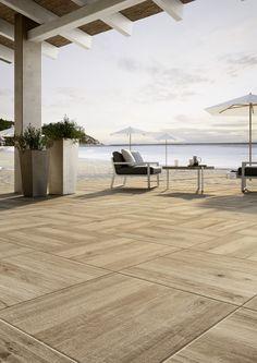 Venkovní terasová dlažba v imitaci dřeva Treverkhome20 | Keramika Soukup