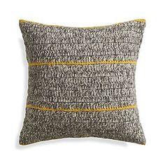 "Beasley Yellow 20"" Pillow"