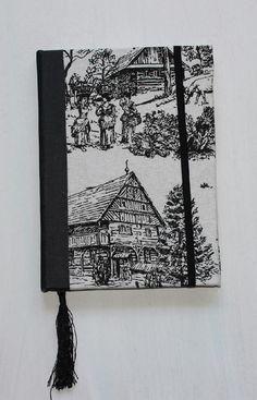 Cuadernos Artesanales #HUMABindery diseños únicos, personalizados. Buscanos en FB y en TW ! #negro