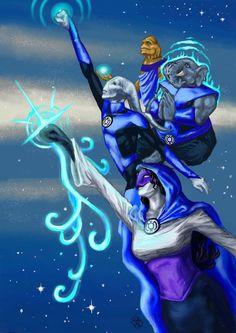 Blue lantern corps razer - photo#20