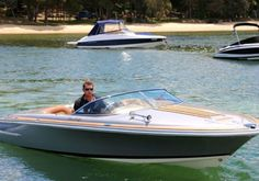 Cool boat Chris Craft Silver Bullet Trailer Boat 2010