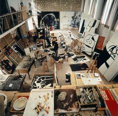 "atmospheric-minimalism: ""  Joan Miró's Mallorcan studio """