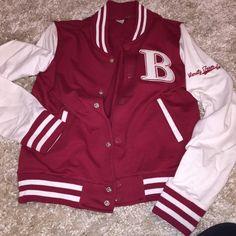 Varsity Jacket red varsity jacket Jackets & Coats