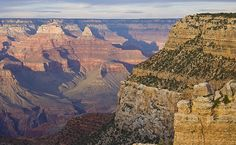 """Shadow Fall"" - Sunset at the Grand Canyon.  I lived and worked at the canyon from 2007-08!"