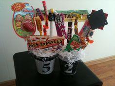 Docs 60th Birthday Nostalgic Gift Basket
