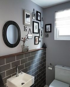 Space saving toilet design for small bathroom - home to z. home decorating games for adults refferal: 9731515764 Space Saving Toilet, Small Toilet Room, Bad Inspiration, Bathroom Inspiration, Bathroom Wall Decor, Bathroom Interior, Gold Bathroom, Bathroom Sets, Bathroom Remodeling
